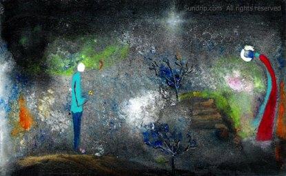 Night Gardener - SOLD