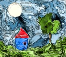 Moon House - digital