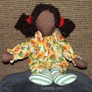 Joy the Sunflower Girl