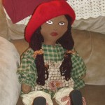African-American Rag Doll Lisa ** SOLD