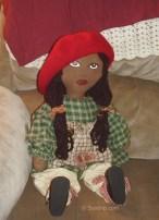 African-American Rag Doll Lisa ** SOLD