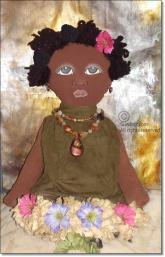 African American Bag Doll