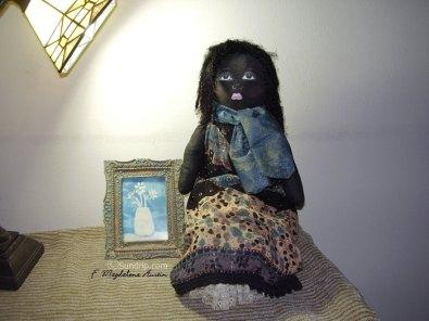 Ophelia Rose- African American Rag Doll