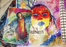 Girl with orange mask 1 fma