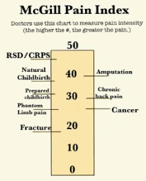 McGill Pain Scale -CRSD