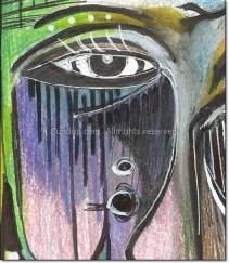 "The eye from ""Smirk"""