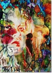 """Three Standing"" My Face My Art"