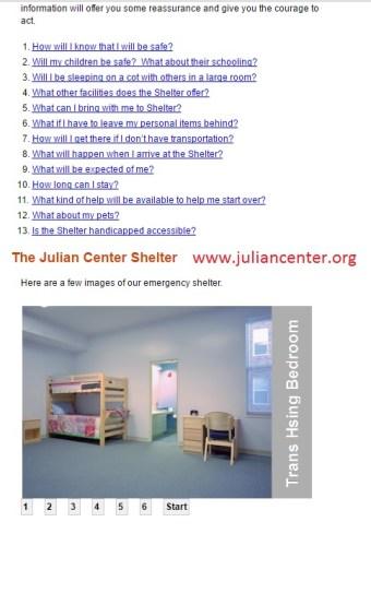 The Julian Center Shelter