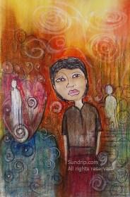 Orange Horizon Hope - available