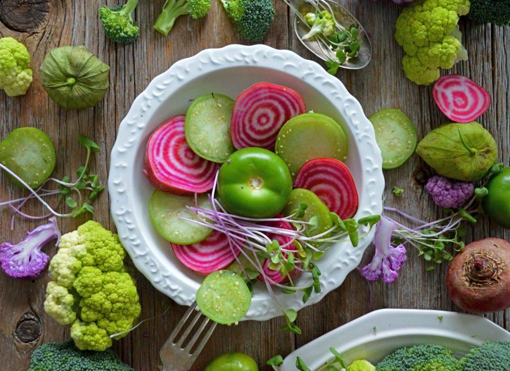 salade rijk aan vitamine K