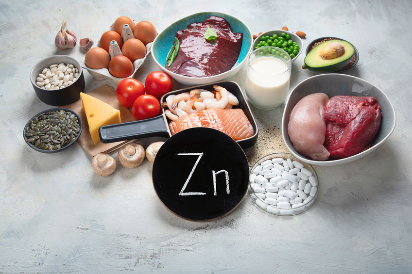 voedingsmiddelen die rijk zijn aan zink