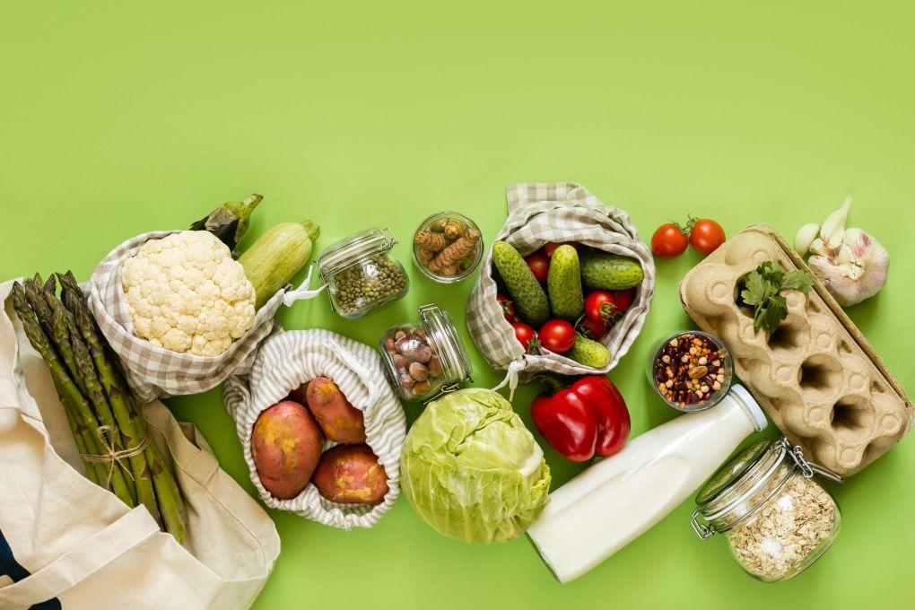 vegetables with fiber