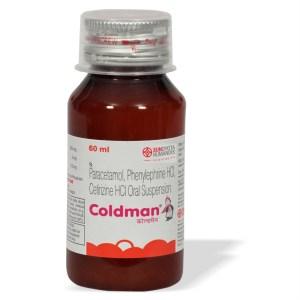 Sundyota Coldman Syrup