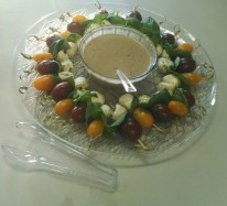 Caprese Skewers Sunflower Chef Catering