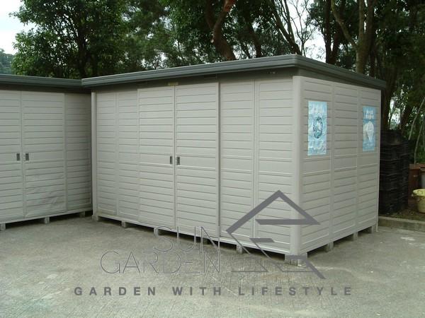 日本組合屋儲物櫃115 - SunGarden︱戶外傢俱直銷中心