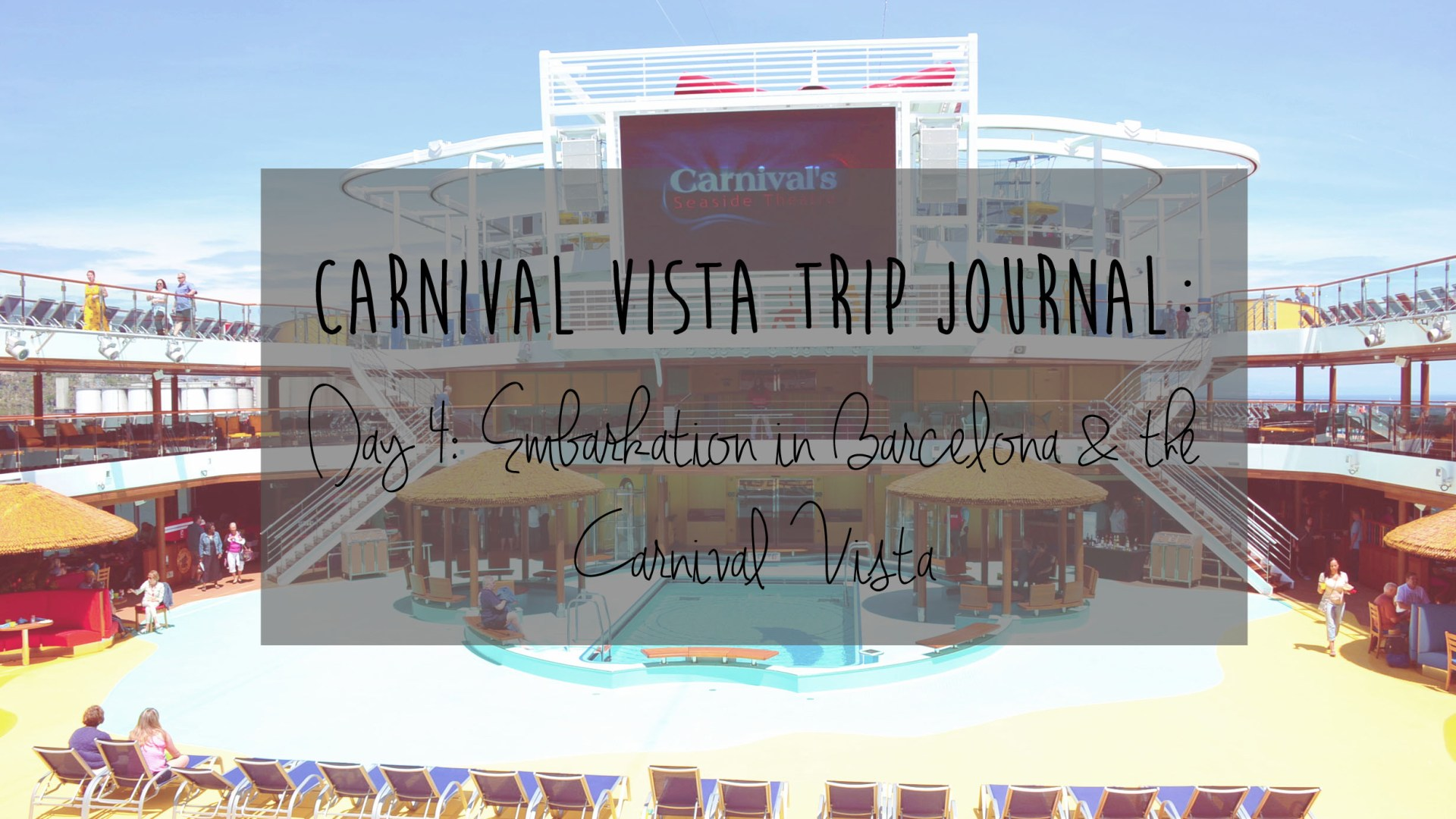 Carnival Vista Review: Day 4 – Embarking on the Carnival Vista
