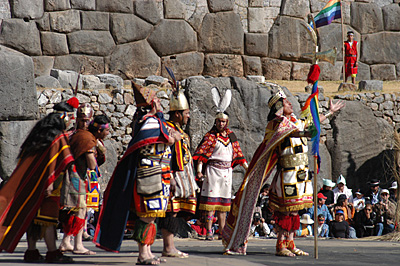 intiraymi in the short escape Cusco