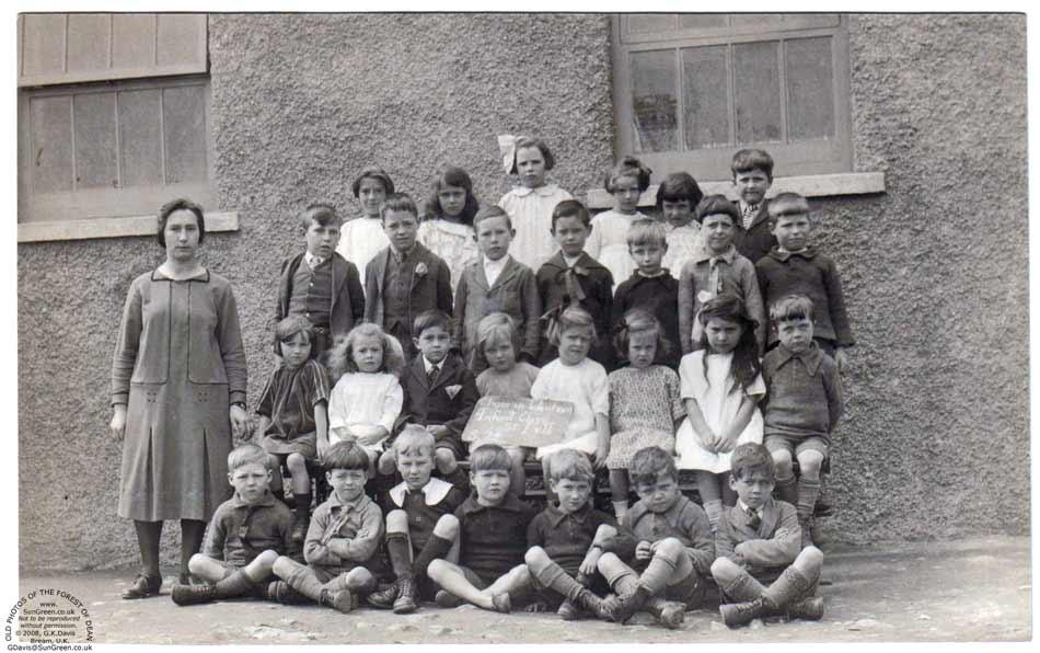 Tidenham Chase School 1926