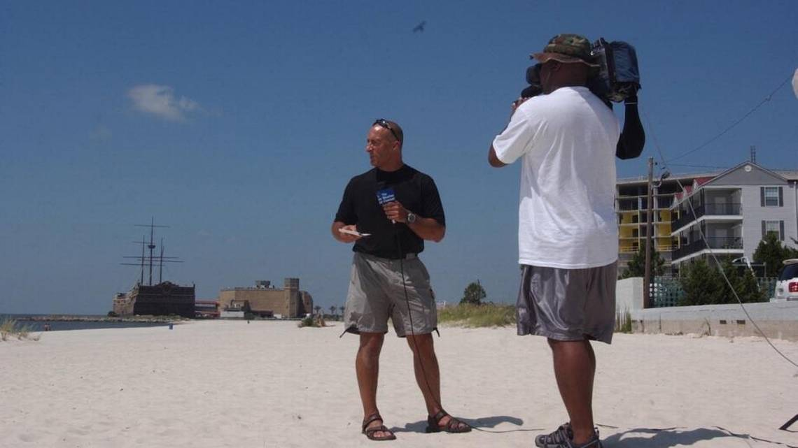 The Weather Channels Jim Cantore Has Landed In Gulfport