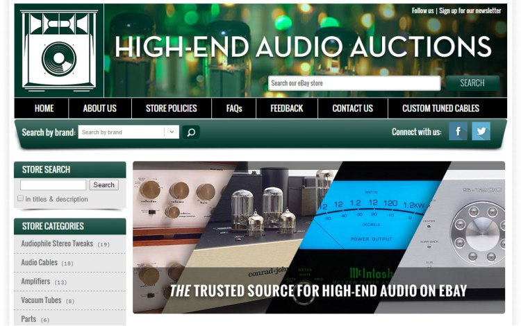 Sunil Chauhan's Project - High End Audio Auctions