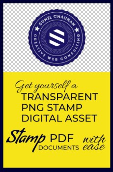 Transparent PNG Stamp Digital Asset