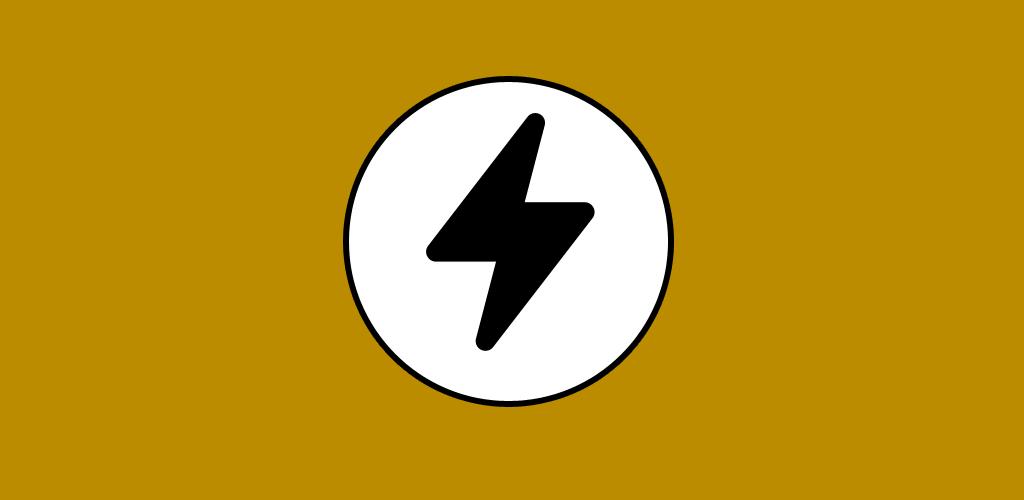 elektrik ikonu gibi