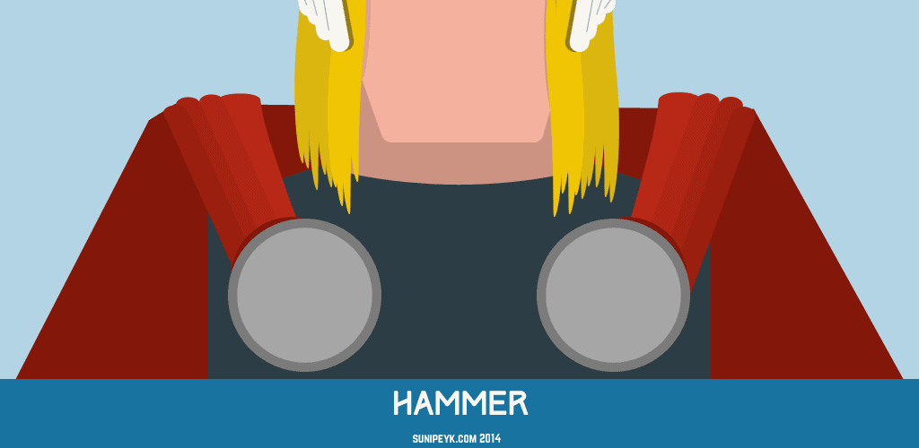 Flat Thor ikonu