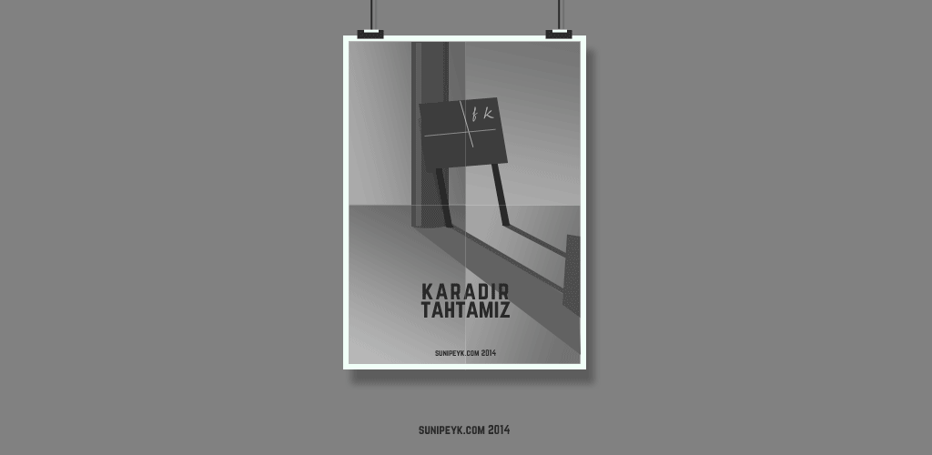 karatahta posteri