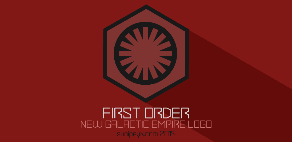Star Wars first order logo