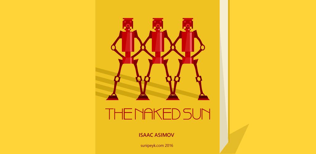 The Naked Sun Kitap Kapağı
