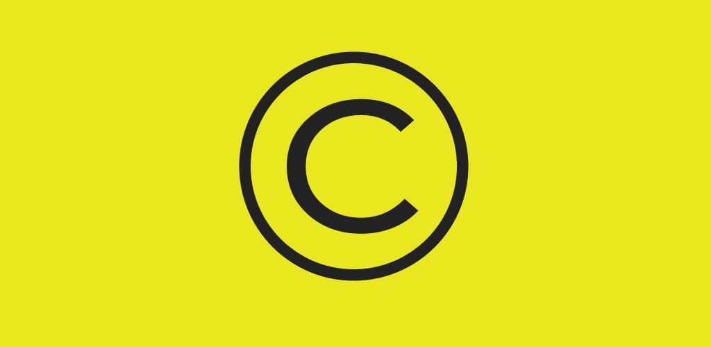 copyright işareti