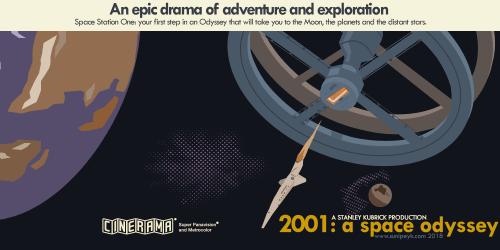 2001 a space odyssey film posteri