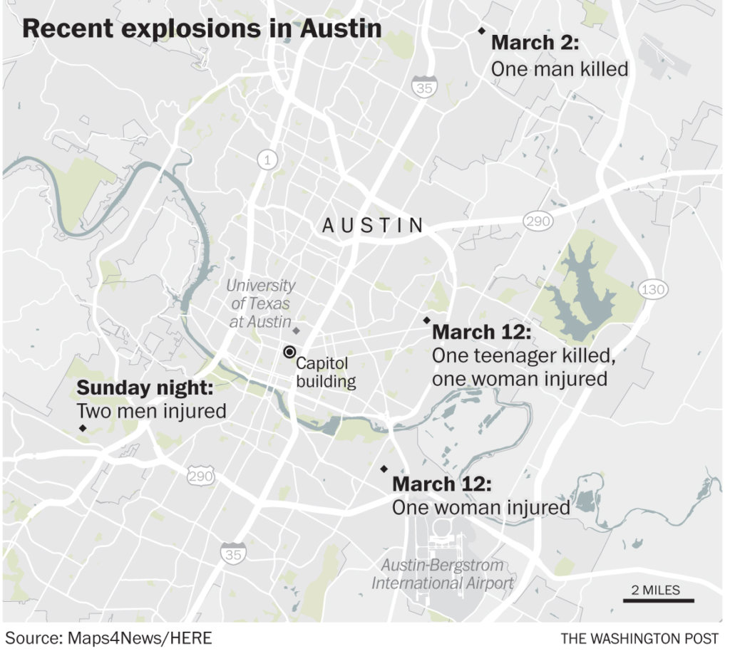 texas serial bomber blew himself up