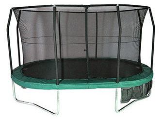 11.5ft x 8ft Oval JumpPOD Deluxe Trampoline