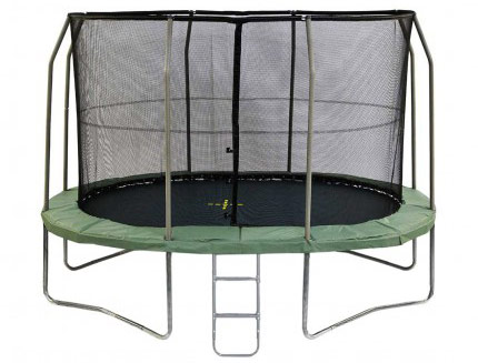 11.5ft x 8ft Jumpking Oval Capital Ultra Trampoline