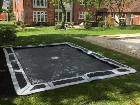 14ft By 10ft Capital In Ground Trampoline