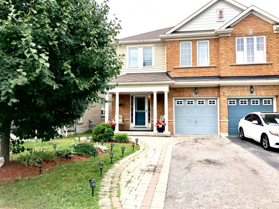 Ajax semi deteched house Listing $720,000 19 Bonner Crescent, Ajax, ON L1T 0B6