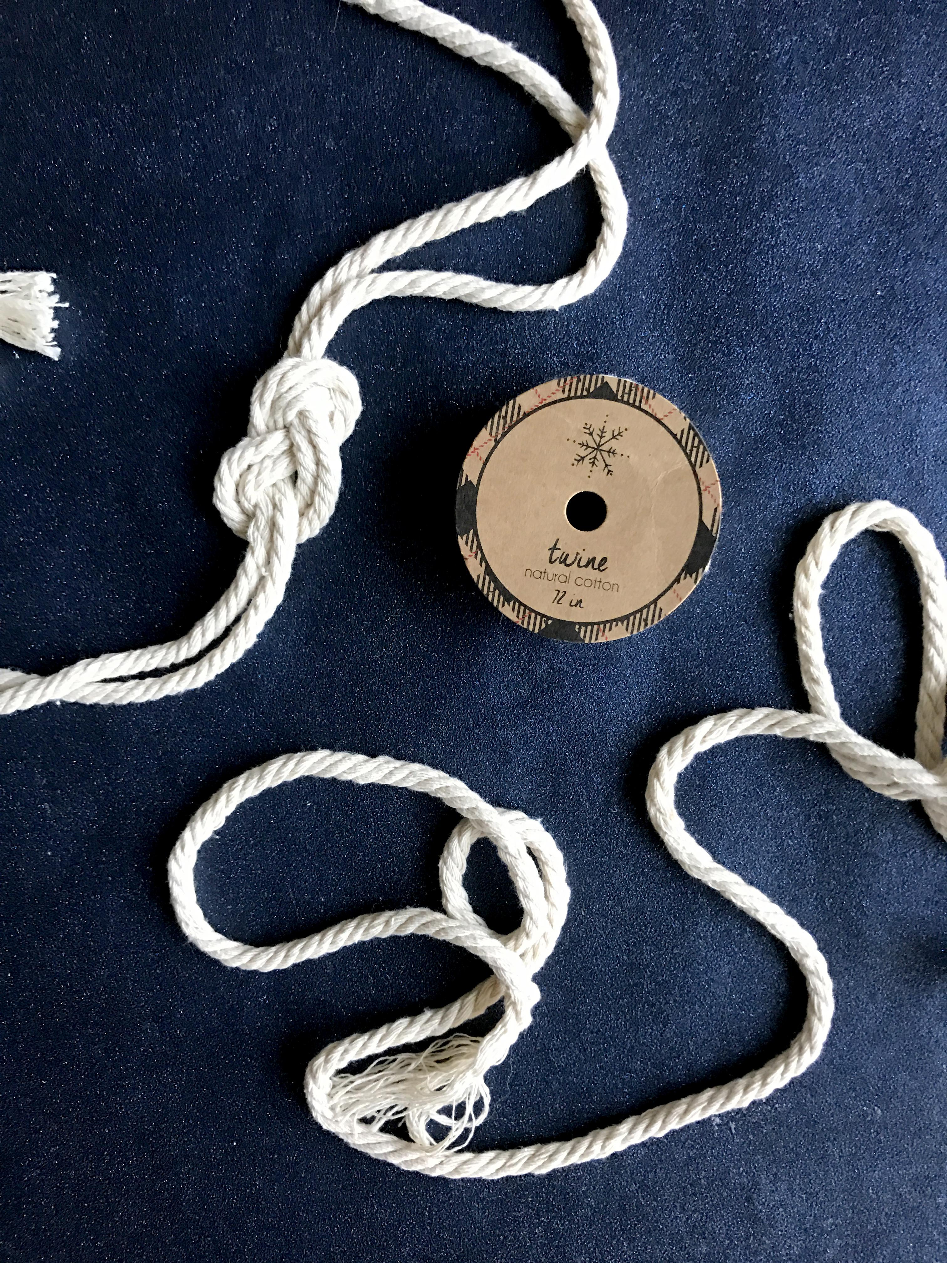How To Create Nautical Knot Rope Garland Coastal Christmas Tree