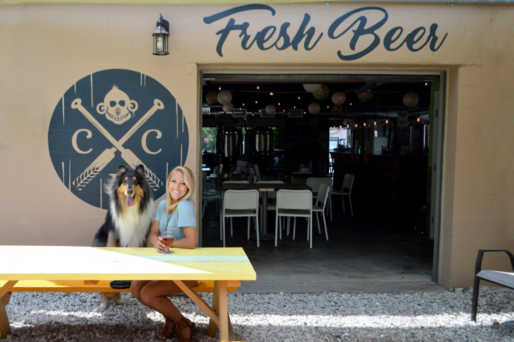 The Brew Review: Cueni Brewing Co. in Dunedin, FL Craft Beer   Brewery   Florida Breweries http://www.sunkissedindecember.com/2017/05/22/cueni-brewing-co-dunedin-fl/