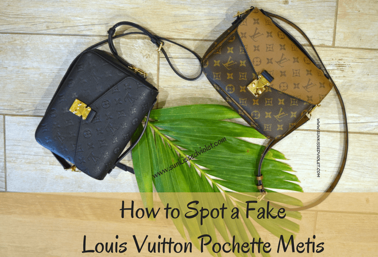 6d220c41ed538 How to spot a FAKE Louis Vuitton Pochette Metis: A Detailed Review ...