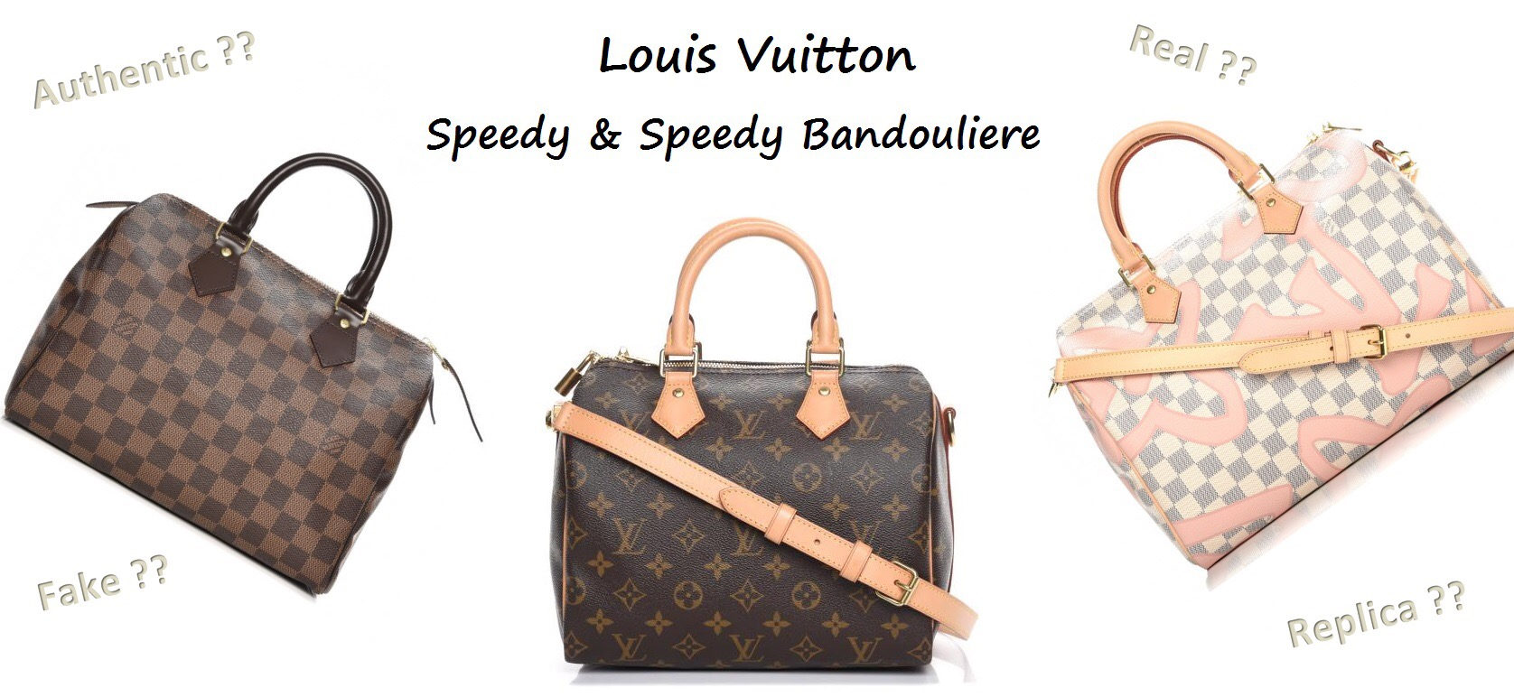331547e584f5 How to Spot a Fake Louis Vuitton Bag 101 ǀ Speedy   Speedy Bandouliere