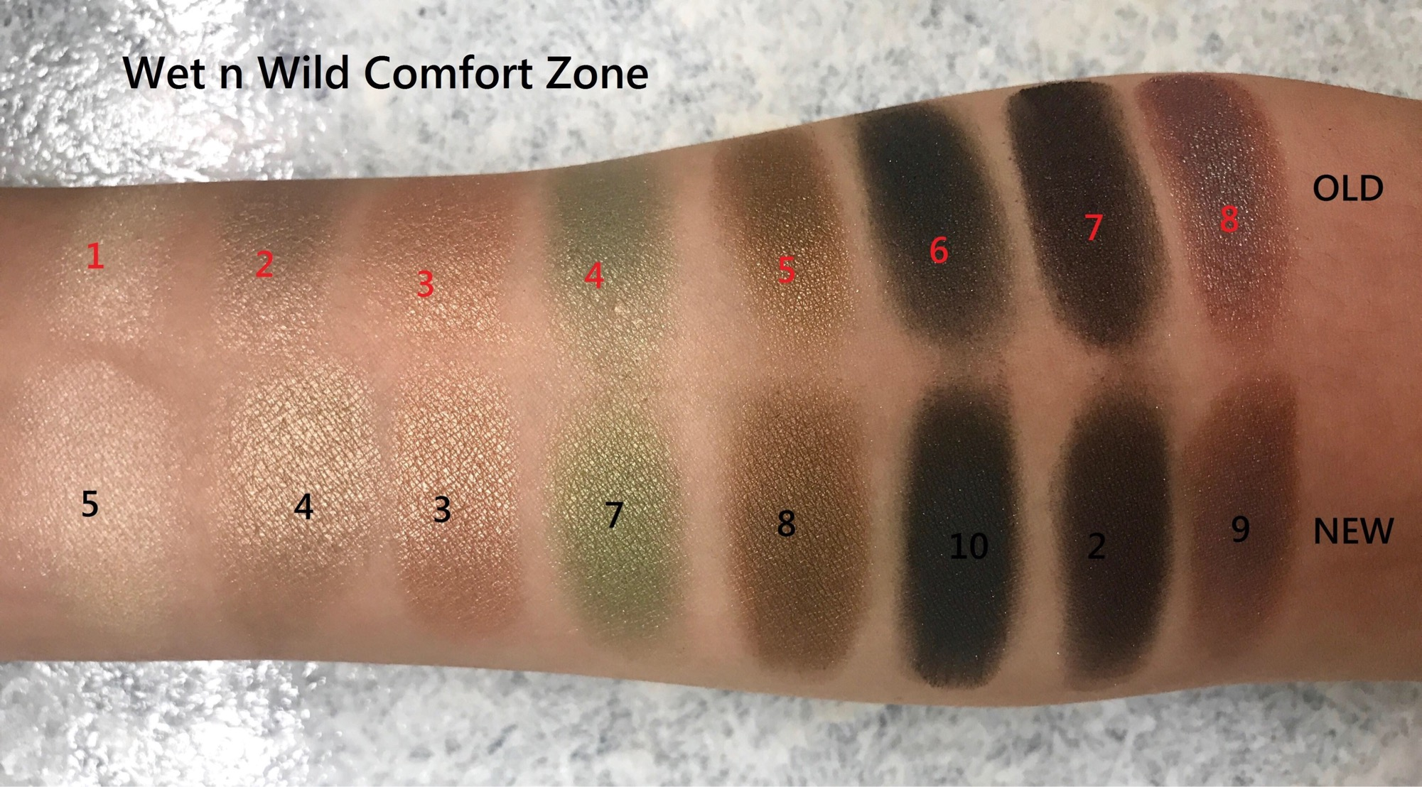 New vs Old: Wet n Wild Comfort Zone Color Icon Eyeshadow Palette | Which one is better? | Swatch, Review and Comparison