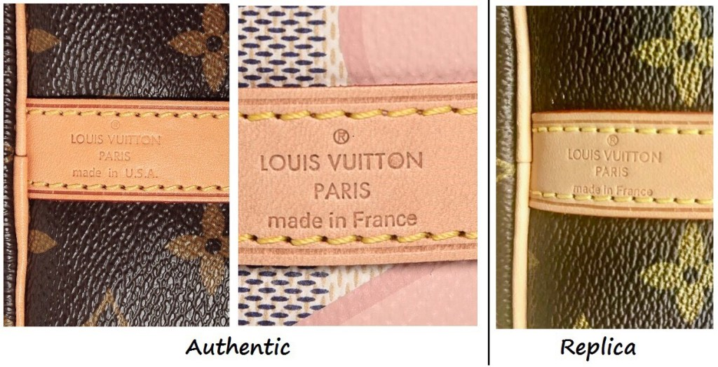 Images For Images For Louis Vuitton Made In France >> How To Spot A Fake Louis Vuitton Bag 101 ǀ Speedy Speedy