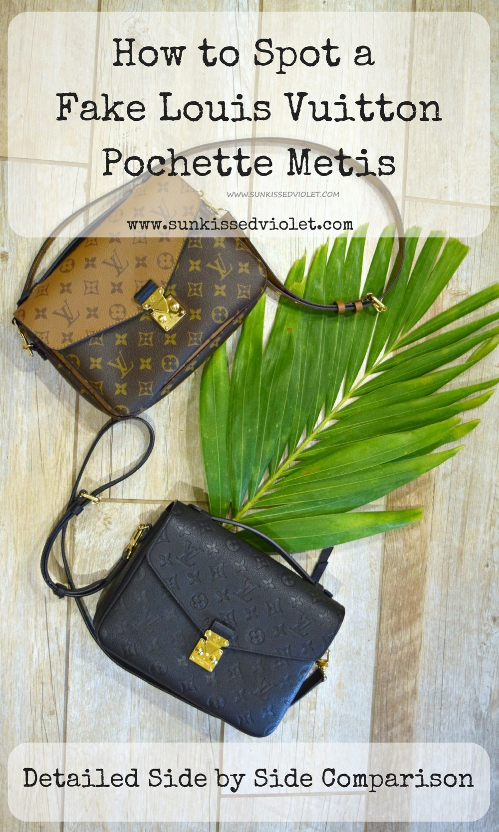 543de6522fa5 How to spot a FAKE Louis Vuitton Pochette Metis: A Detailed Review ...