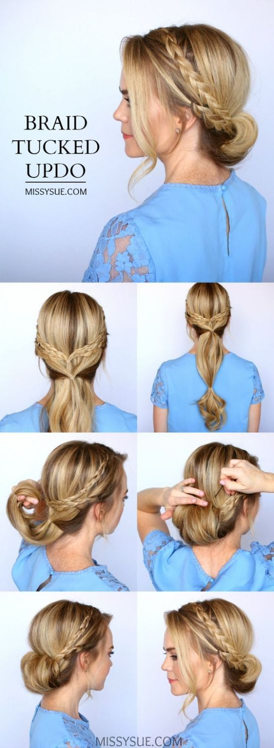 12 Easy Prom Hairstyles for Long Hair You Can DIY At Home