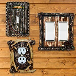 the switch plate outlet modern rustic