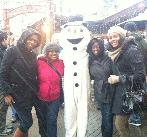 We found Frosty!
