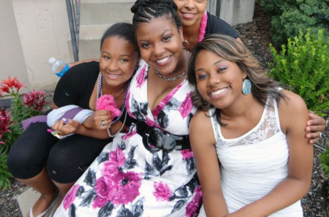 me with my beautiful nieces