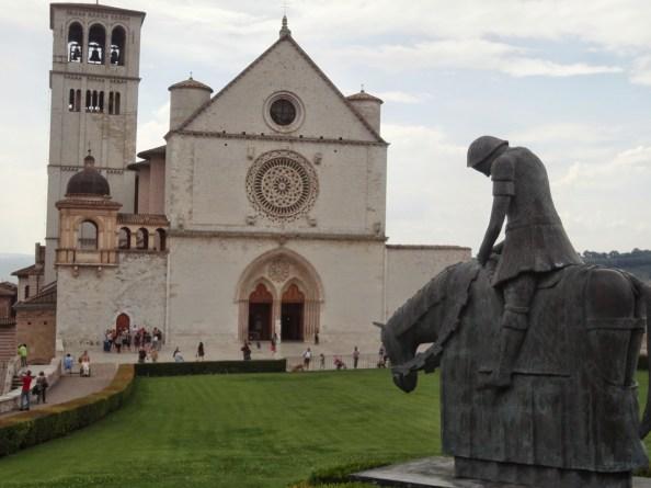 church in asissi