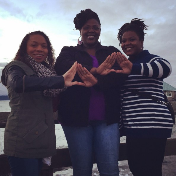 got to introduce my bestie to my ace and her family (my adopted seattle family)